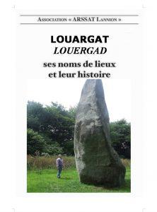 Maquette page de couverture Louargat