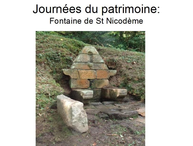 Fontaine St Nicodème