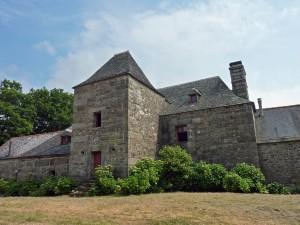 Trémargat : Manoir de Lampoul-Izellan, façade nord